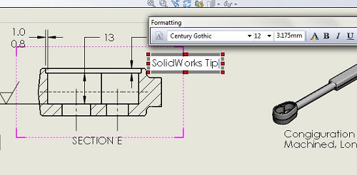REV 9 5 100 useful tips in Solidworks part 2